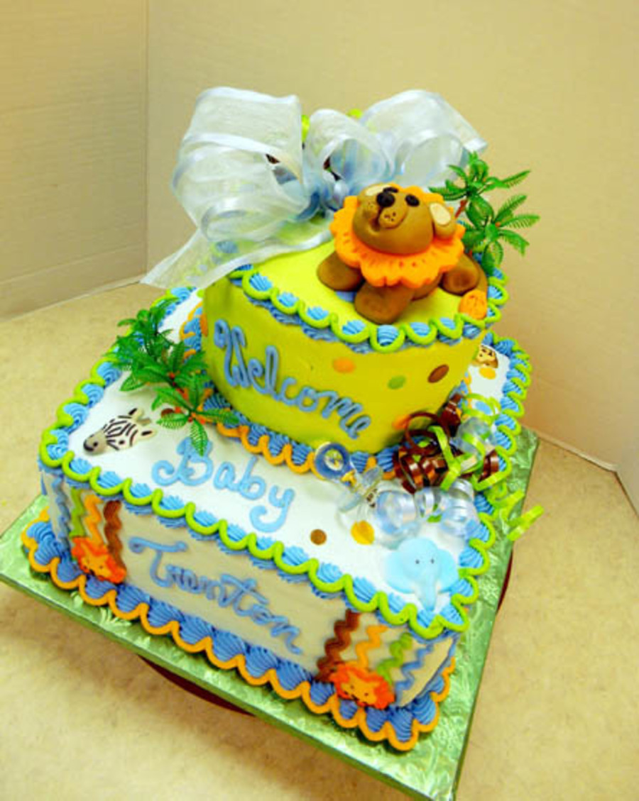 Lion Baby  on Cake Central