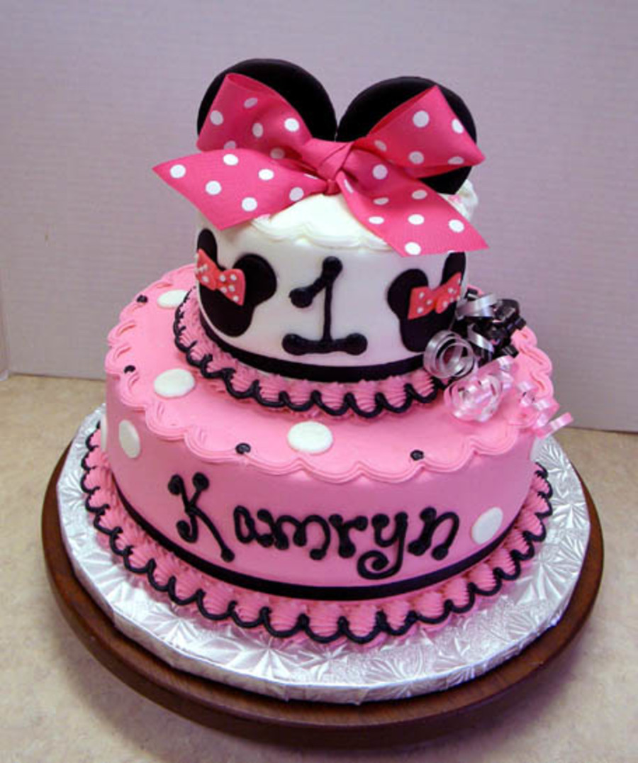 Cute Minnie on Cake Central