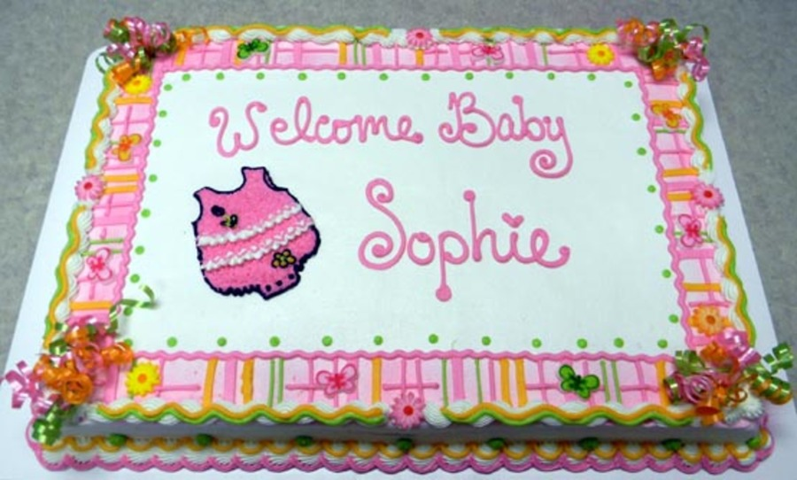 Baby Sophie  on Cake Central