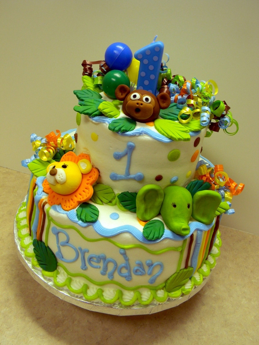 Zoo Time on Cake Central