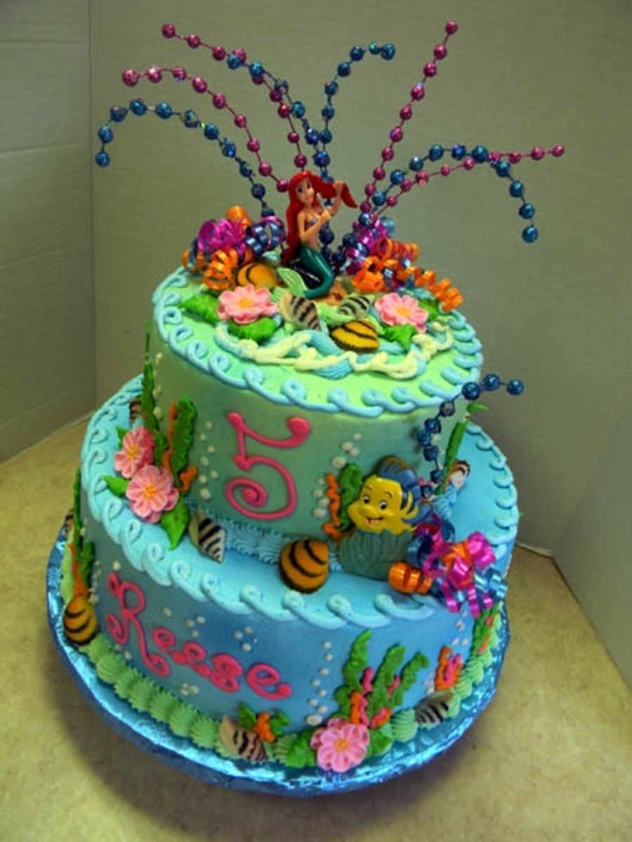 Little Mermaid on Cake Central