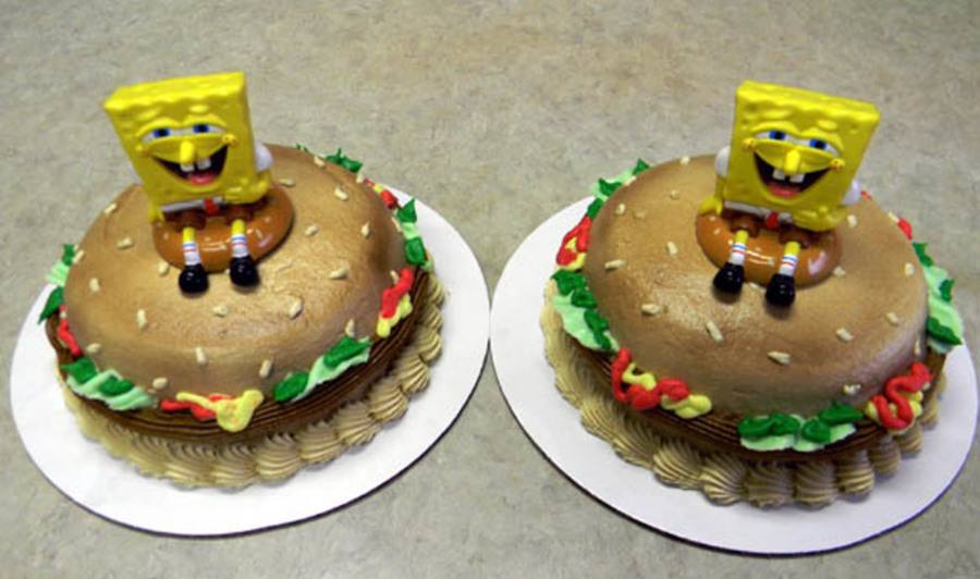 Crabby Pattie Time on Cake Central