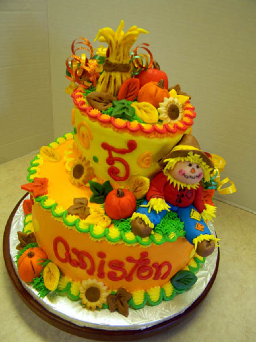 Scarecrow Party on Cake Central