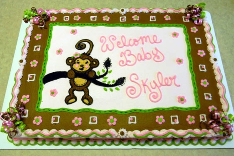 Lil Monkey on Cake Central