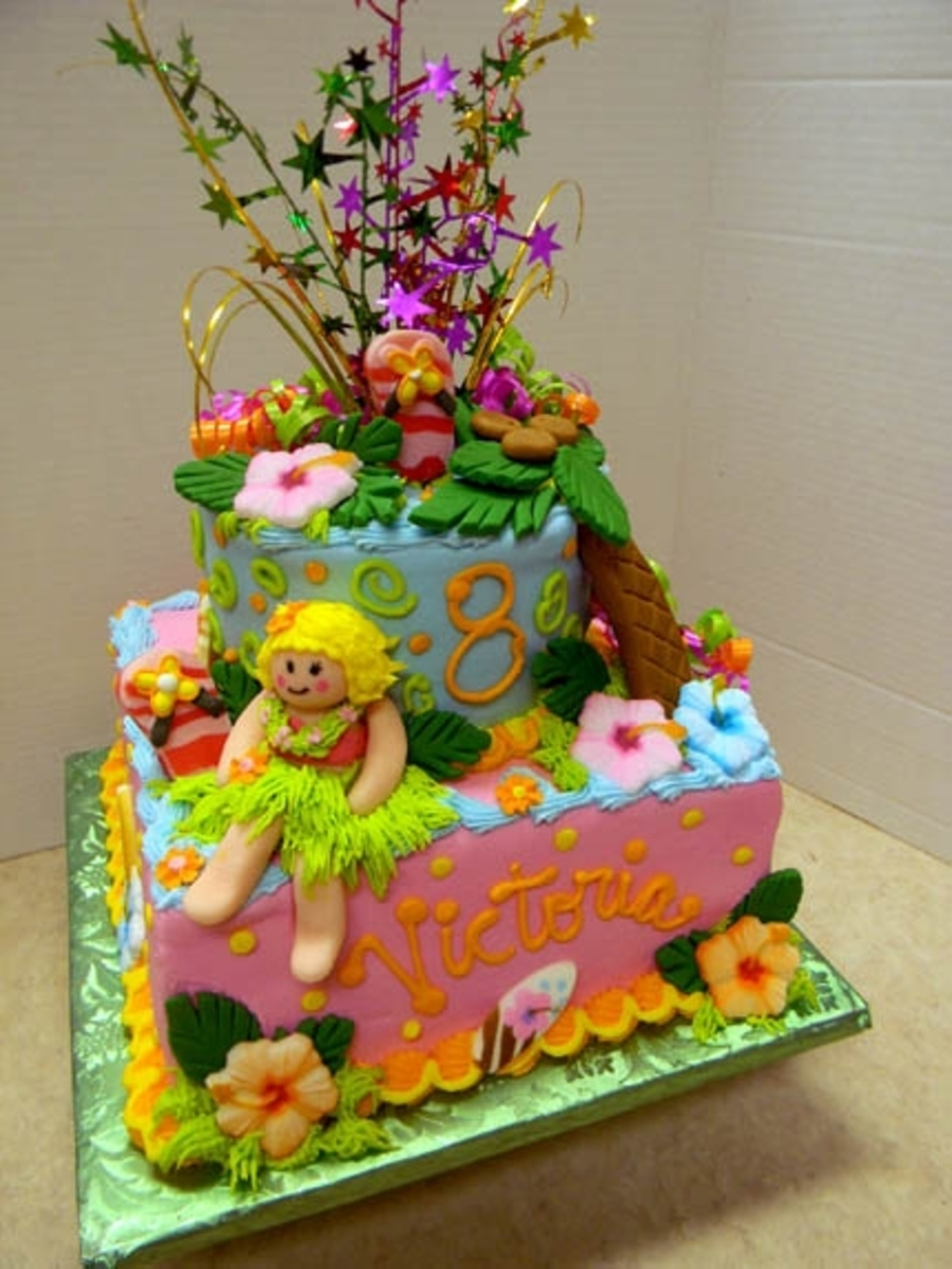 Hula Birthday on Cake Central