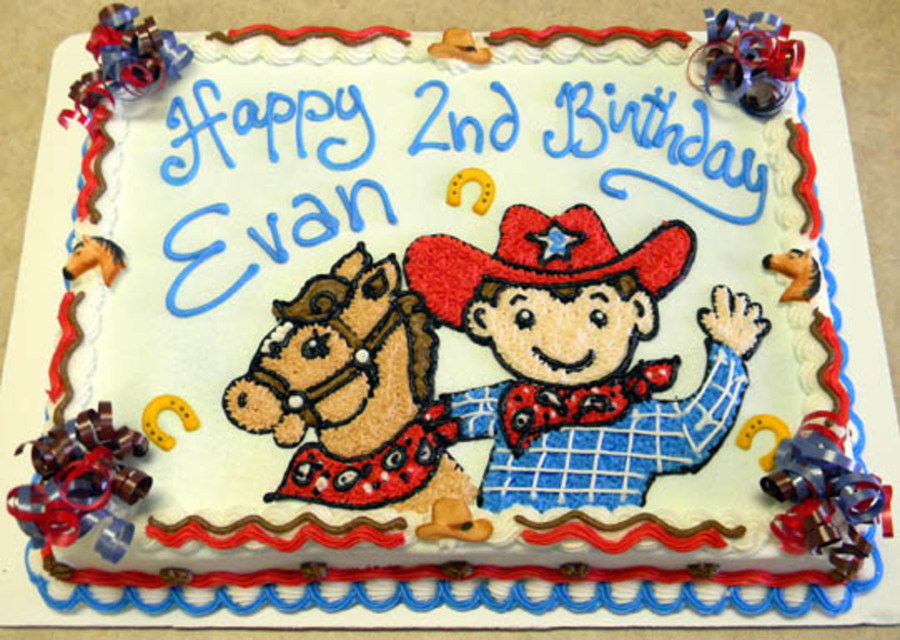 Cowboy Style on Cake Central