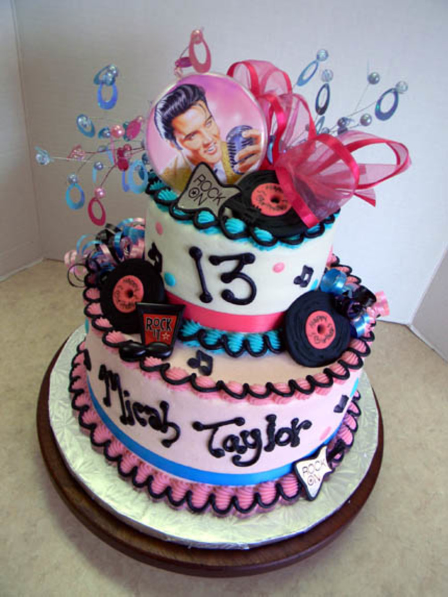 Elvis Fan on Cake Central