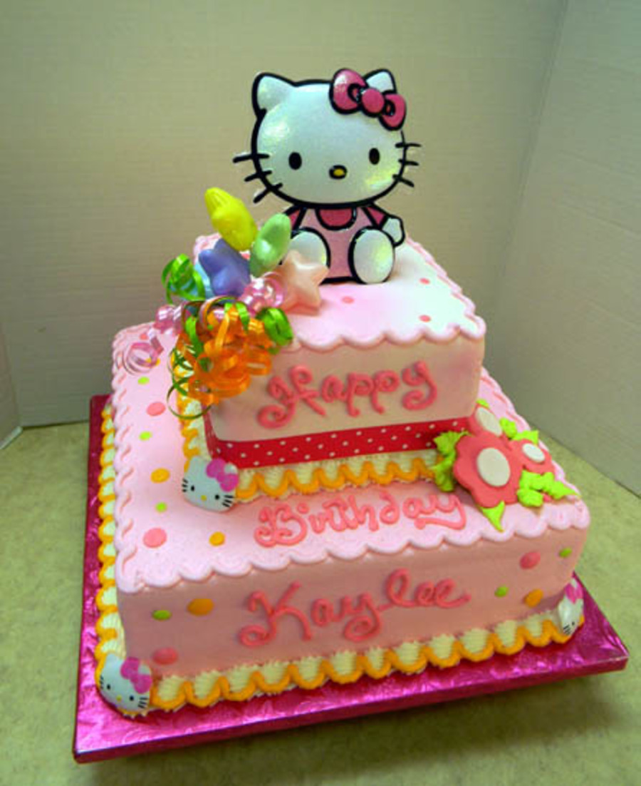 Hello Kitty Tiered on Cake Central