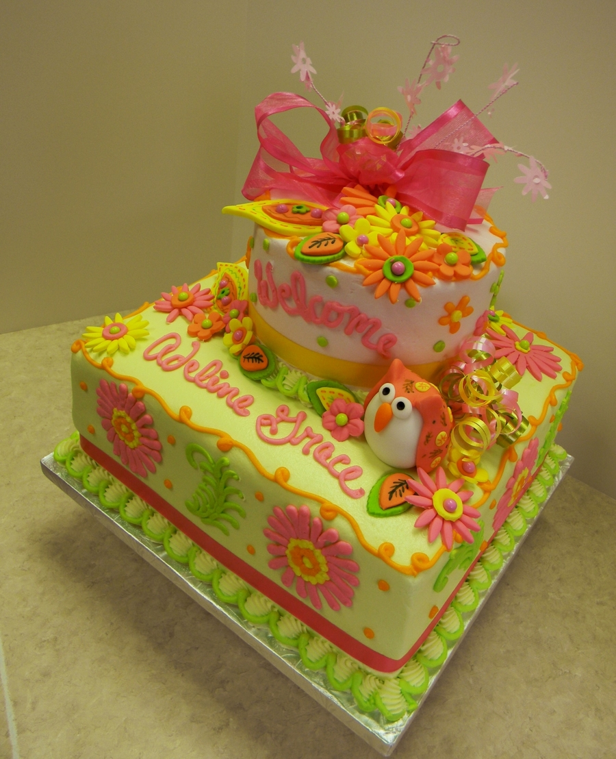 Baby Whoot on Cake Central