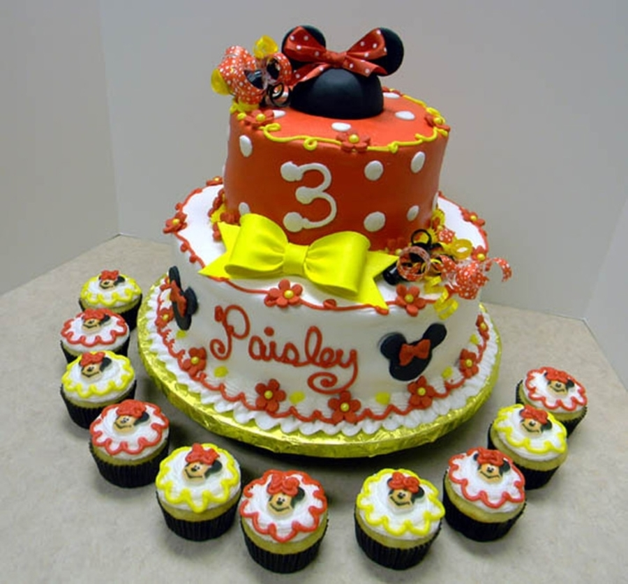 Minnie Red  on Cake Central