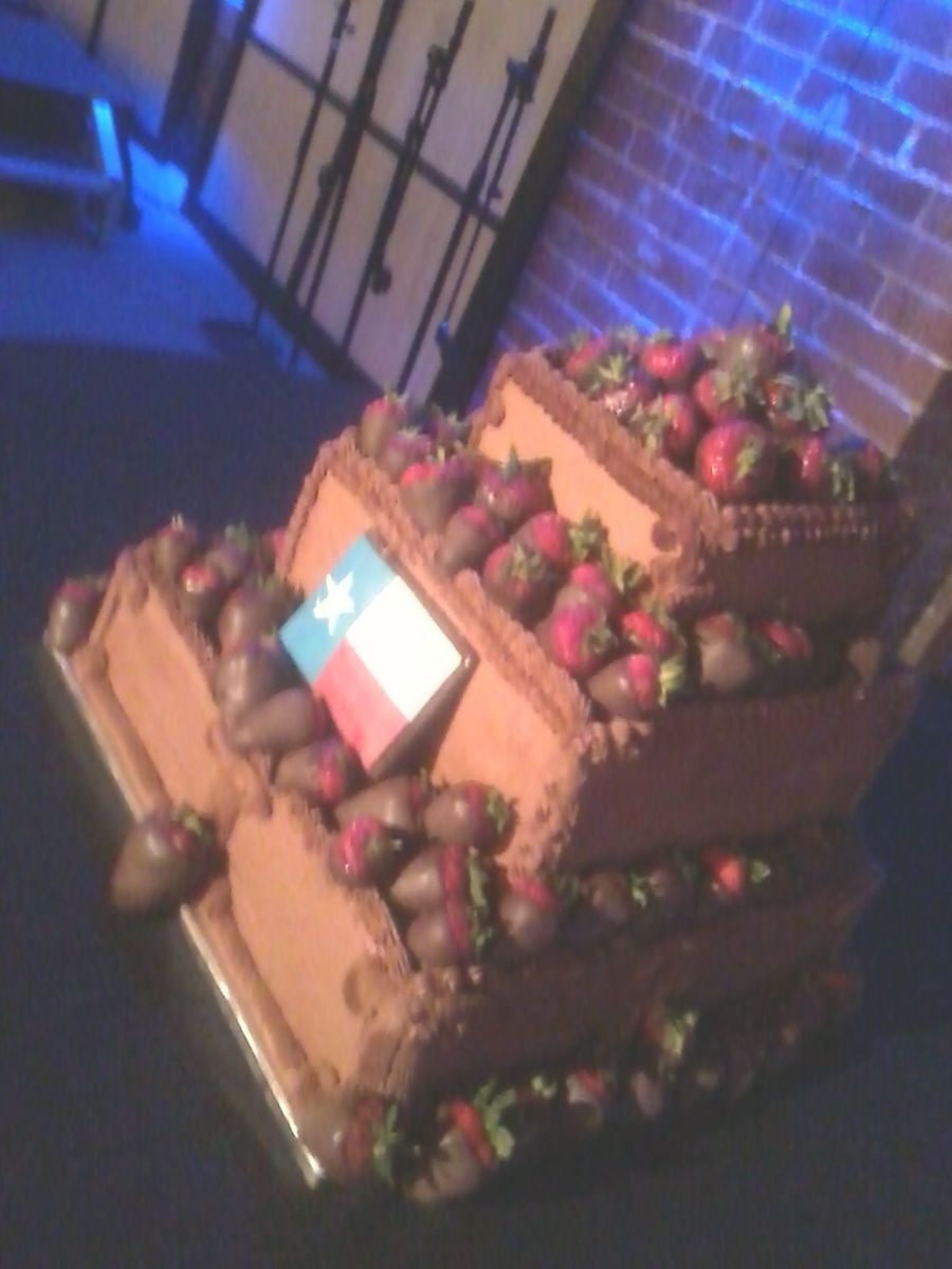 Tx Sized Groom Cake on Cake Central