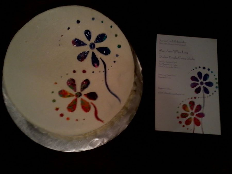 Water Color on Cake Central