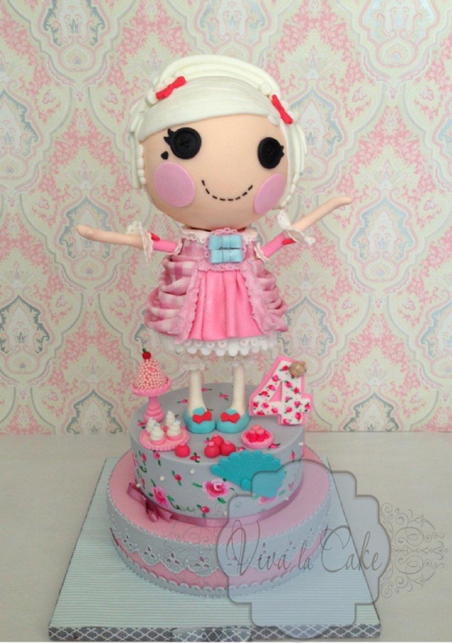 Lalaloopsy Cake Quot Suzette La Sweet Quot Cakecentral Com