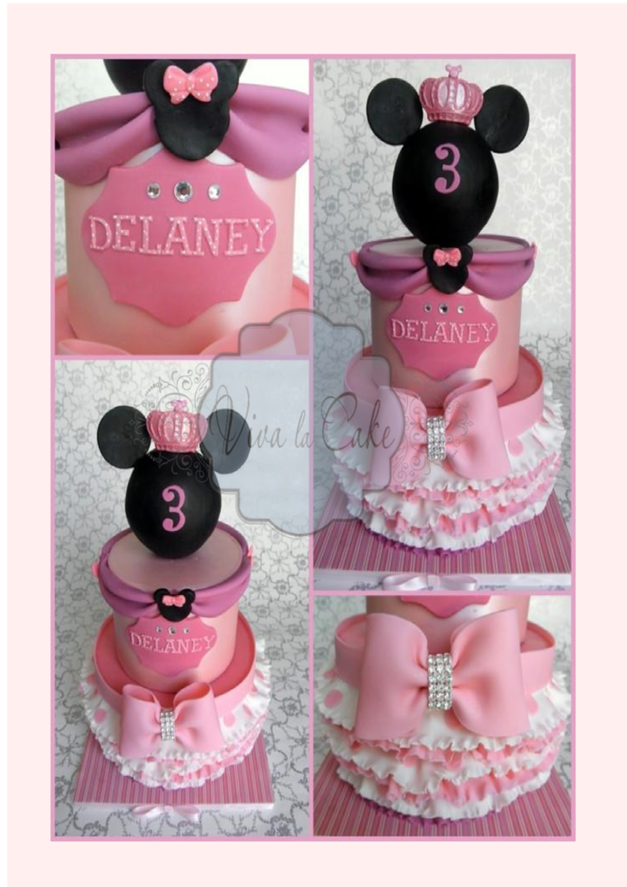 Princess Minnie Mouse on Cake Central