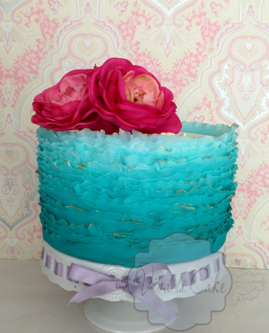 I Made This Cake Using Craftsy Maggie Austins Video Excellent One I Really Recommend It on Cake Central