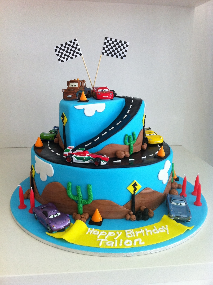 Cars Disney Cake Decorating