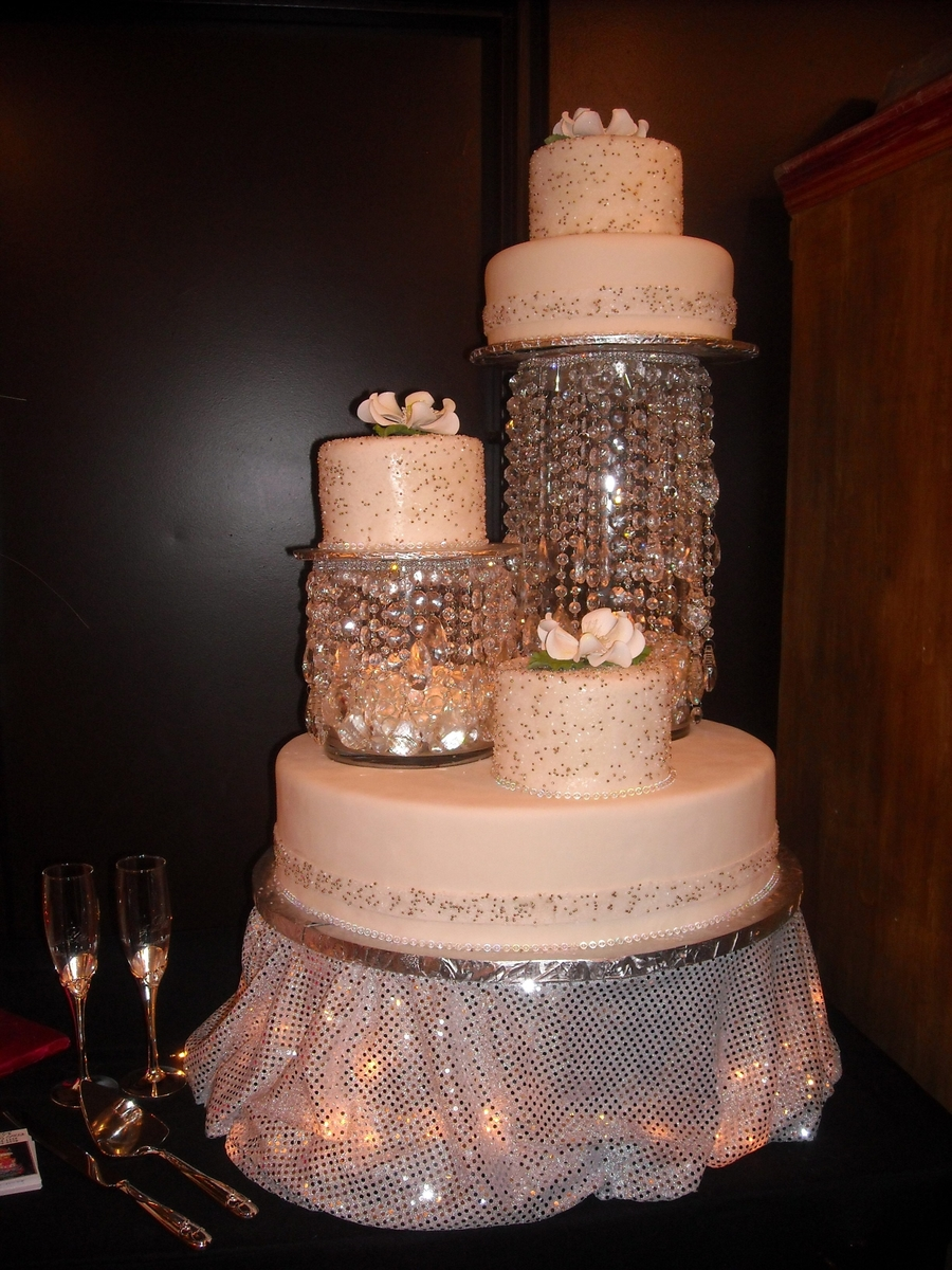 Crystals With Lights  on Cake Central