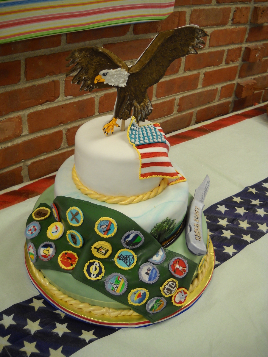 Eagle Scout Ceremony - CakeCentral.com