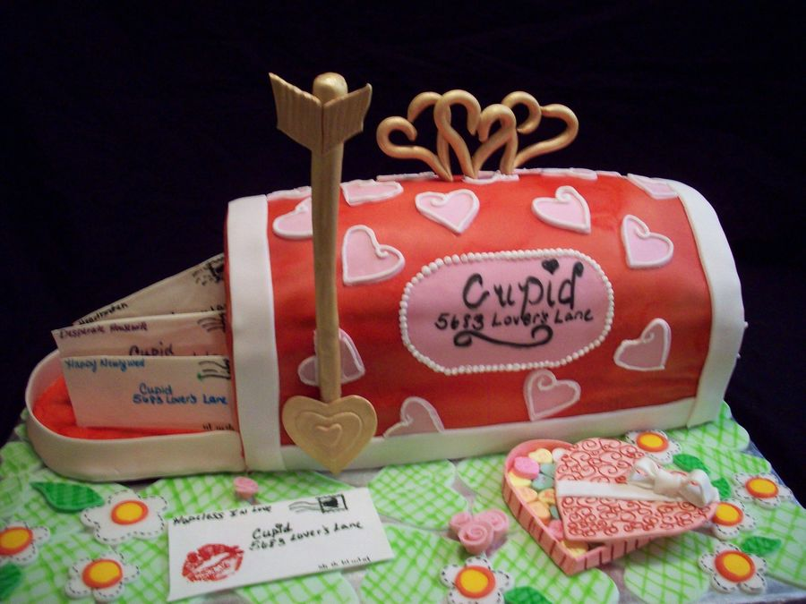 Cupid's Mailbox on Cake Central