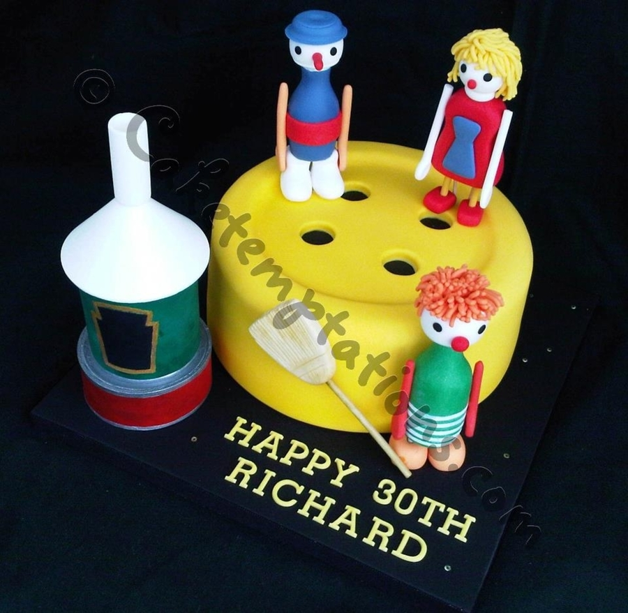 Button Moon on Cake Central