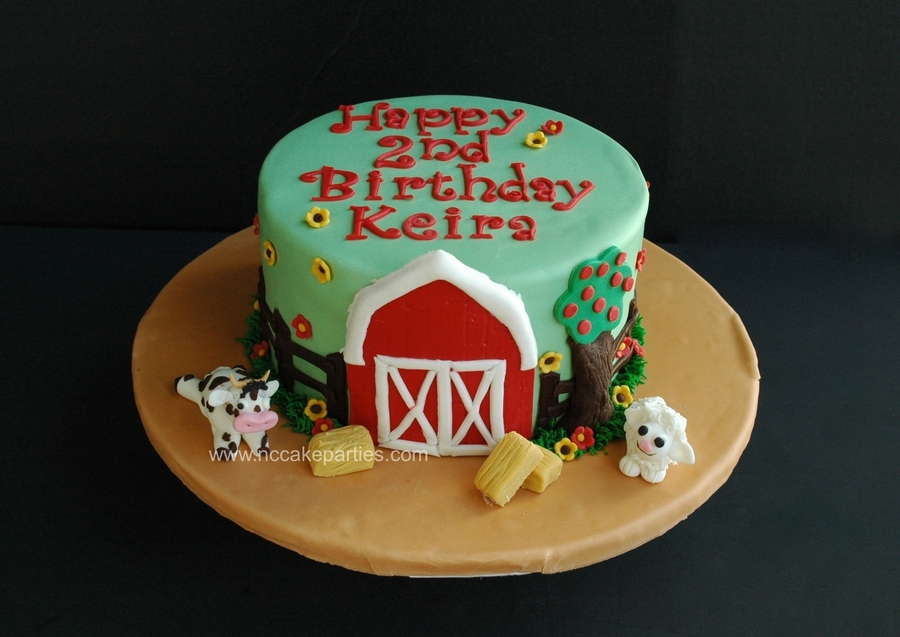 Farm Birthday on Cake Central