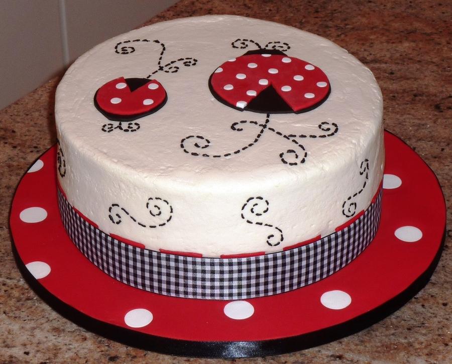 Ladybug Cake Recipe