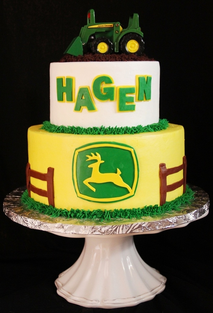 Hagen's 1St on Cake Central