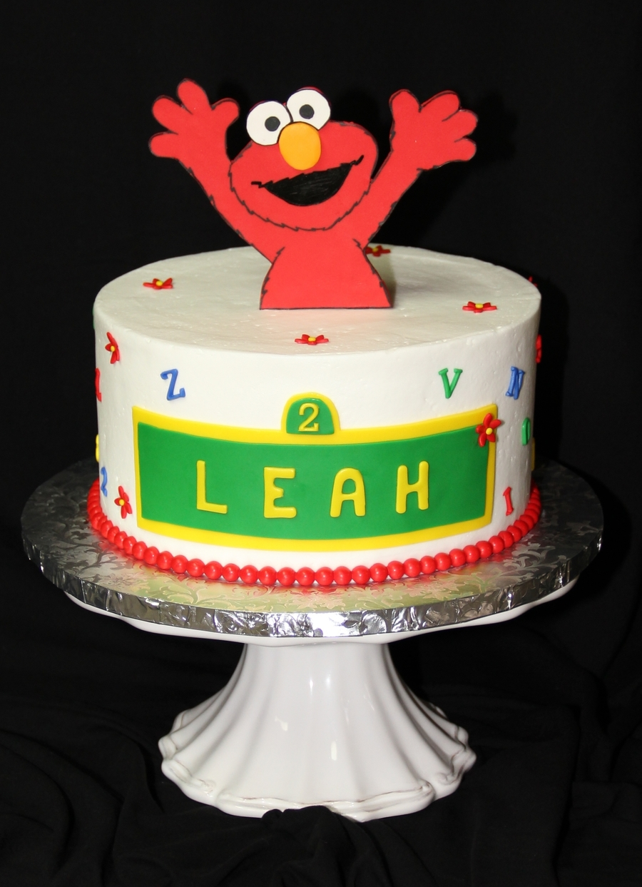 Leah's 2Nd  on Cake Central