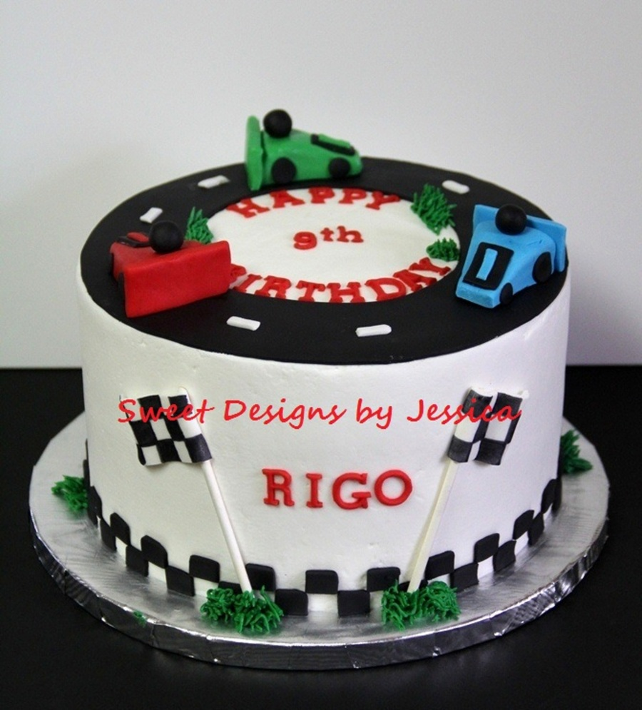 Rigo's 9Th on Cake Central