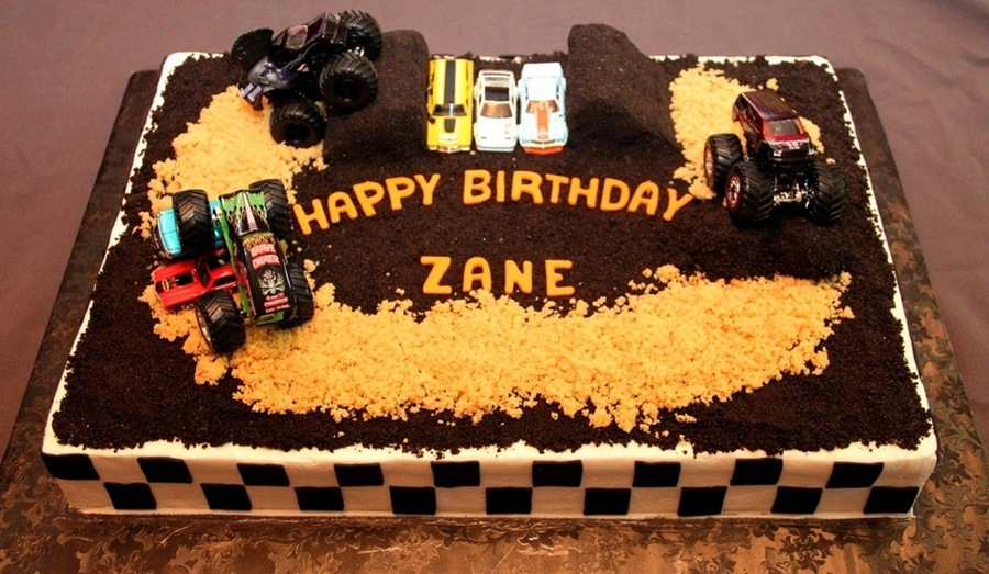 Zane's 5Th on Cake Central