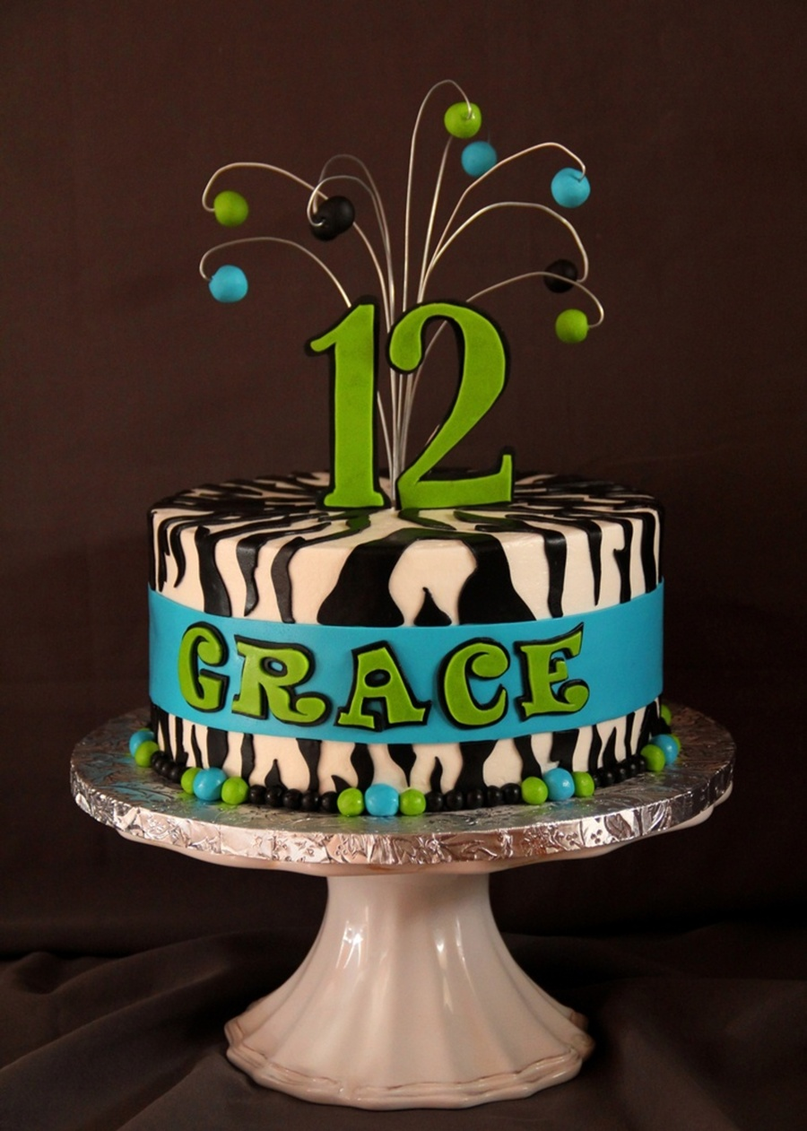 Grace's 12Th on Cake Central