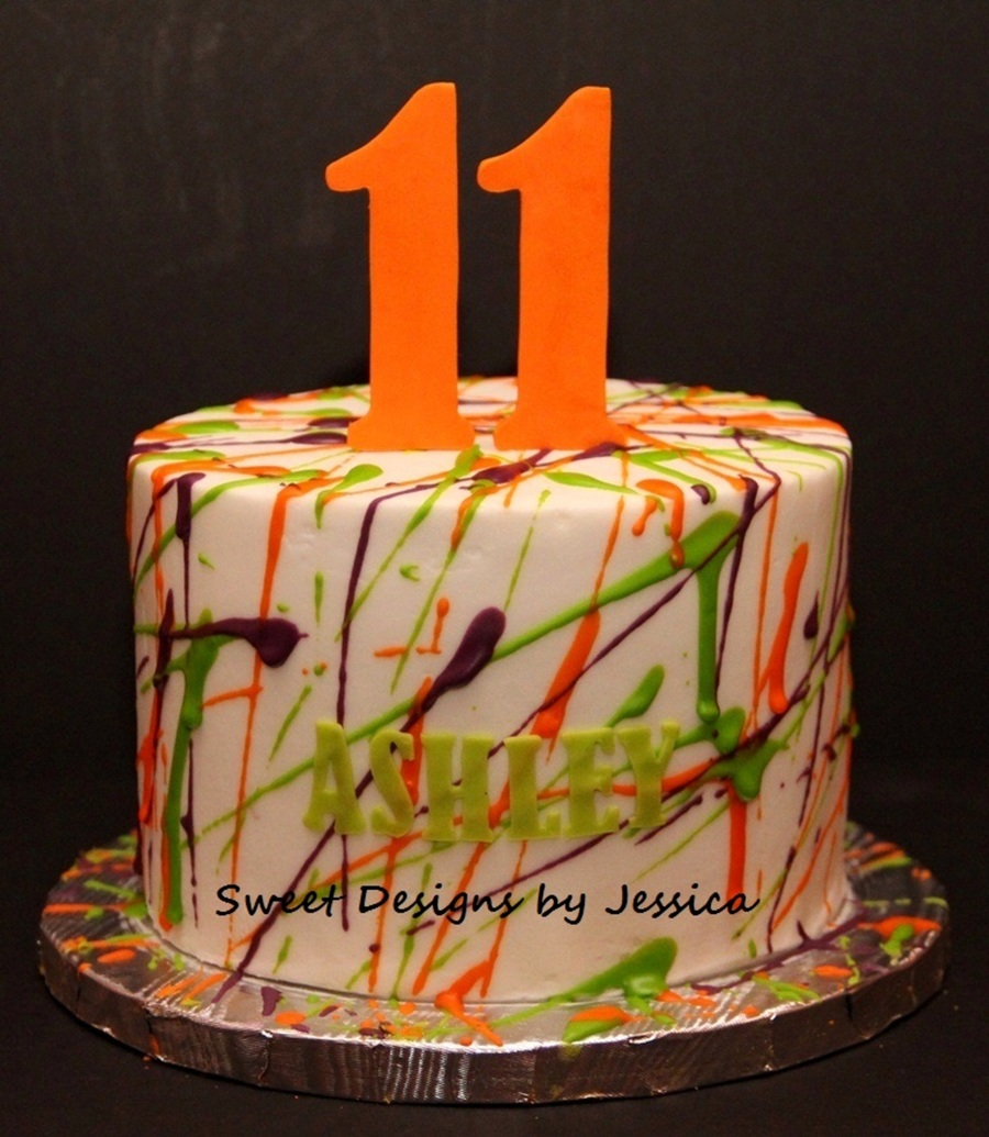 Ashley's 11Th on Cake Central