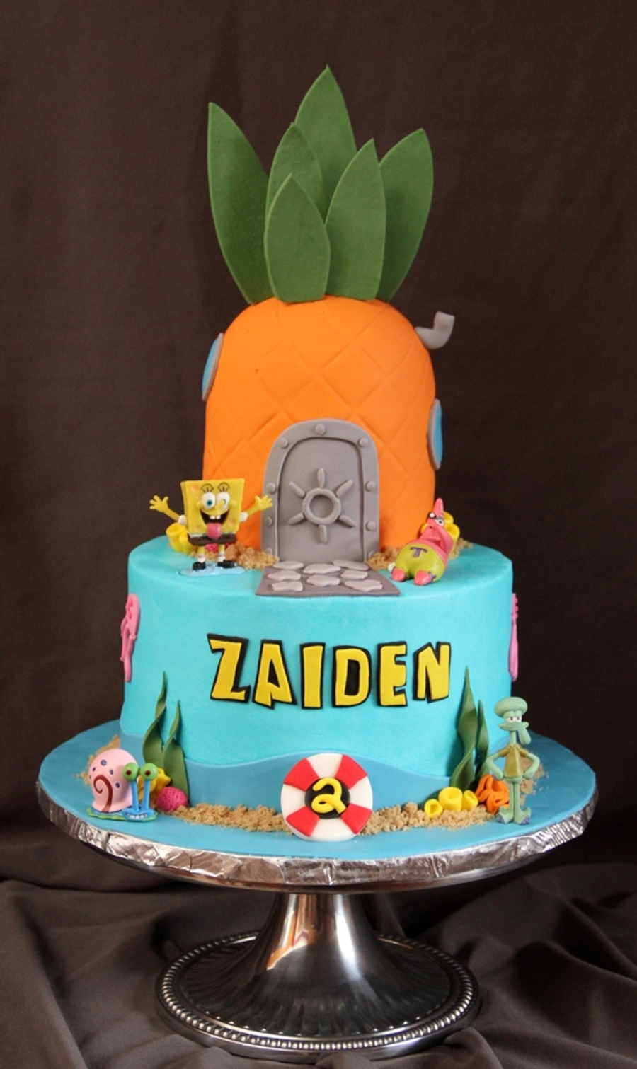 Zaiden's 2Nd on Cake Central
