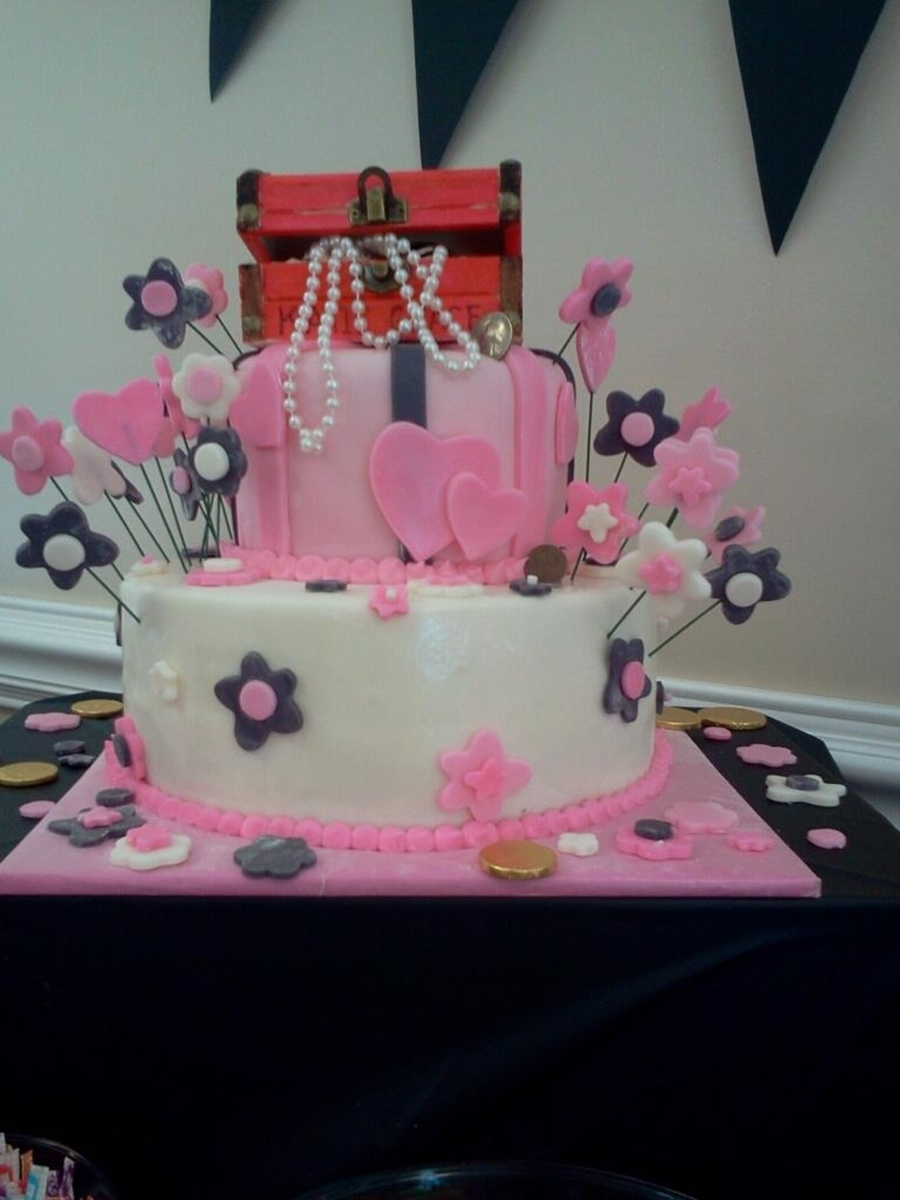 Pirate Princess on Cake Central