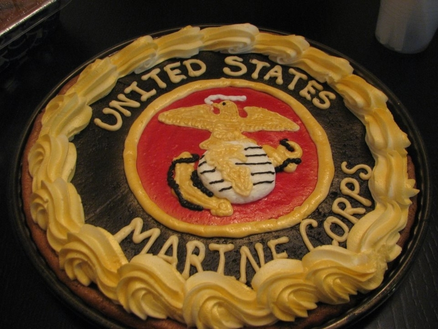 Marines on Cake Central