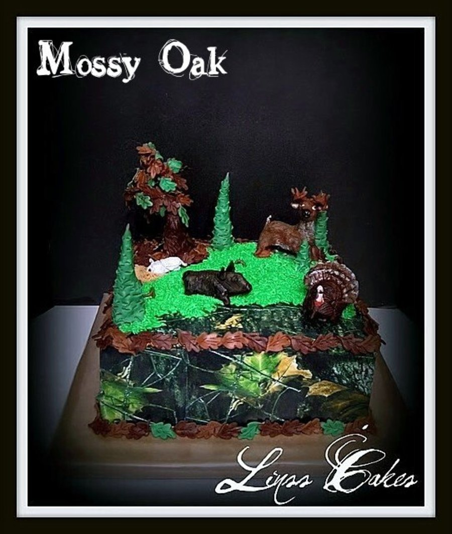Hunting Grooms Cake on Cake Central