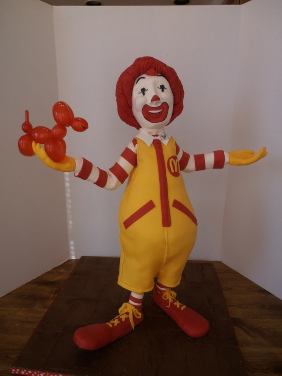 Ronald on Cake Central