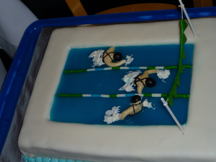 Swim Team on Cake Central