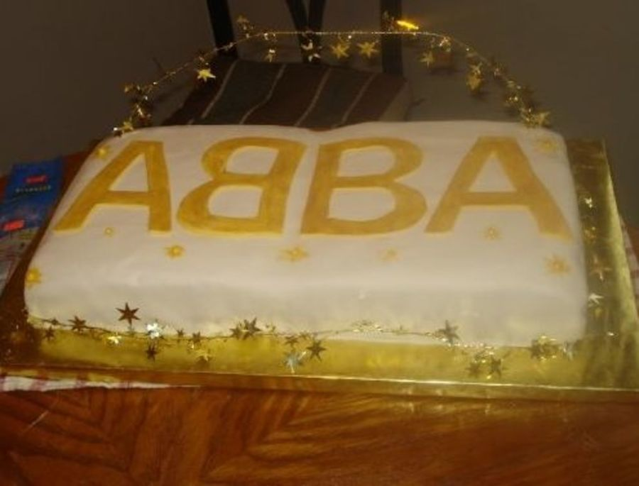 Abba Gold on Cake Central