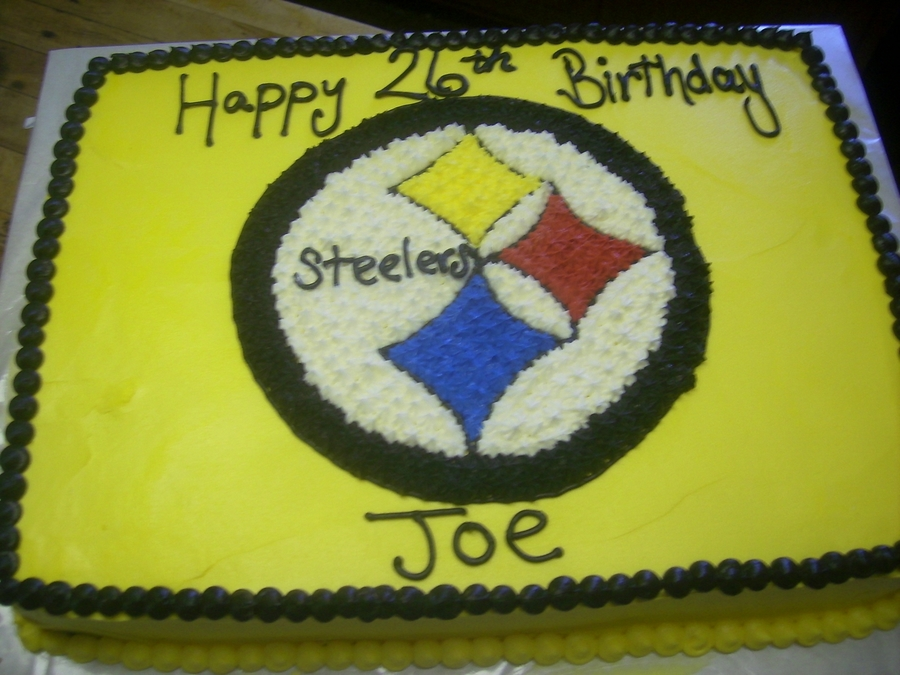 Steelers on Cake Central