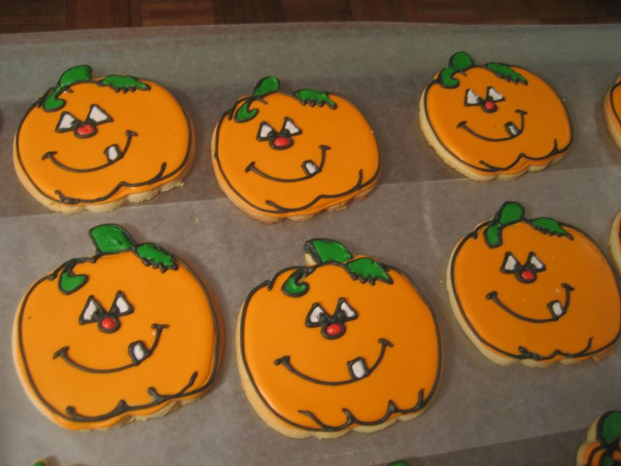 Halloween Pumpkins on Cake Central