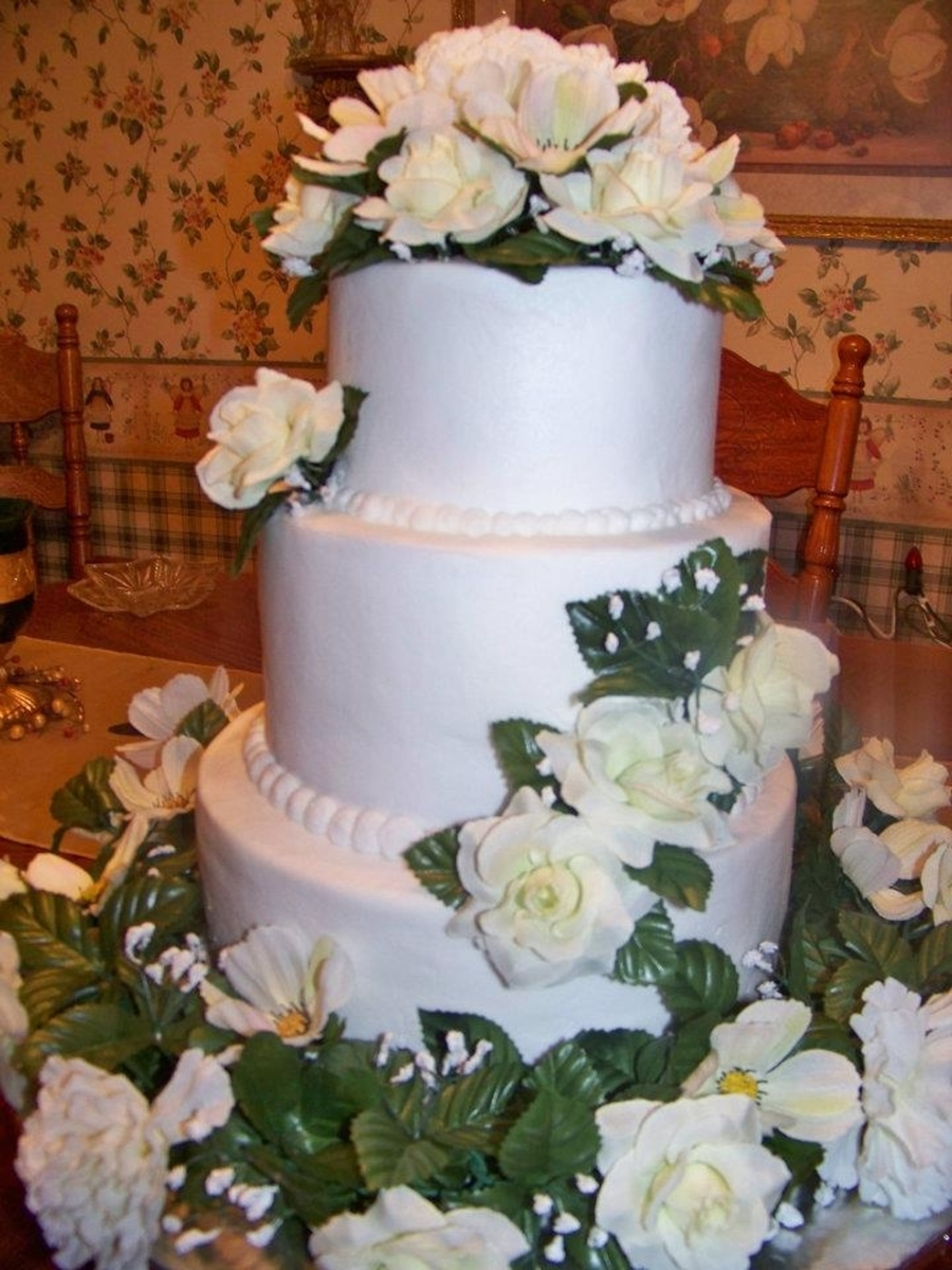 bellas wedding cake quot bellas quot wedding cake cakecentral 11261