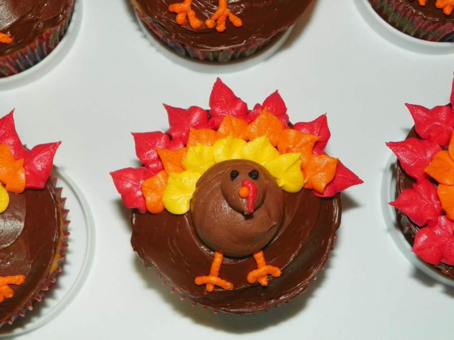 Turkey Cupcakes - CakeCentral.com