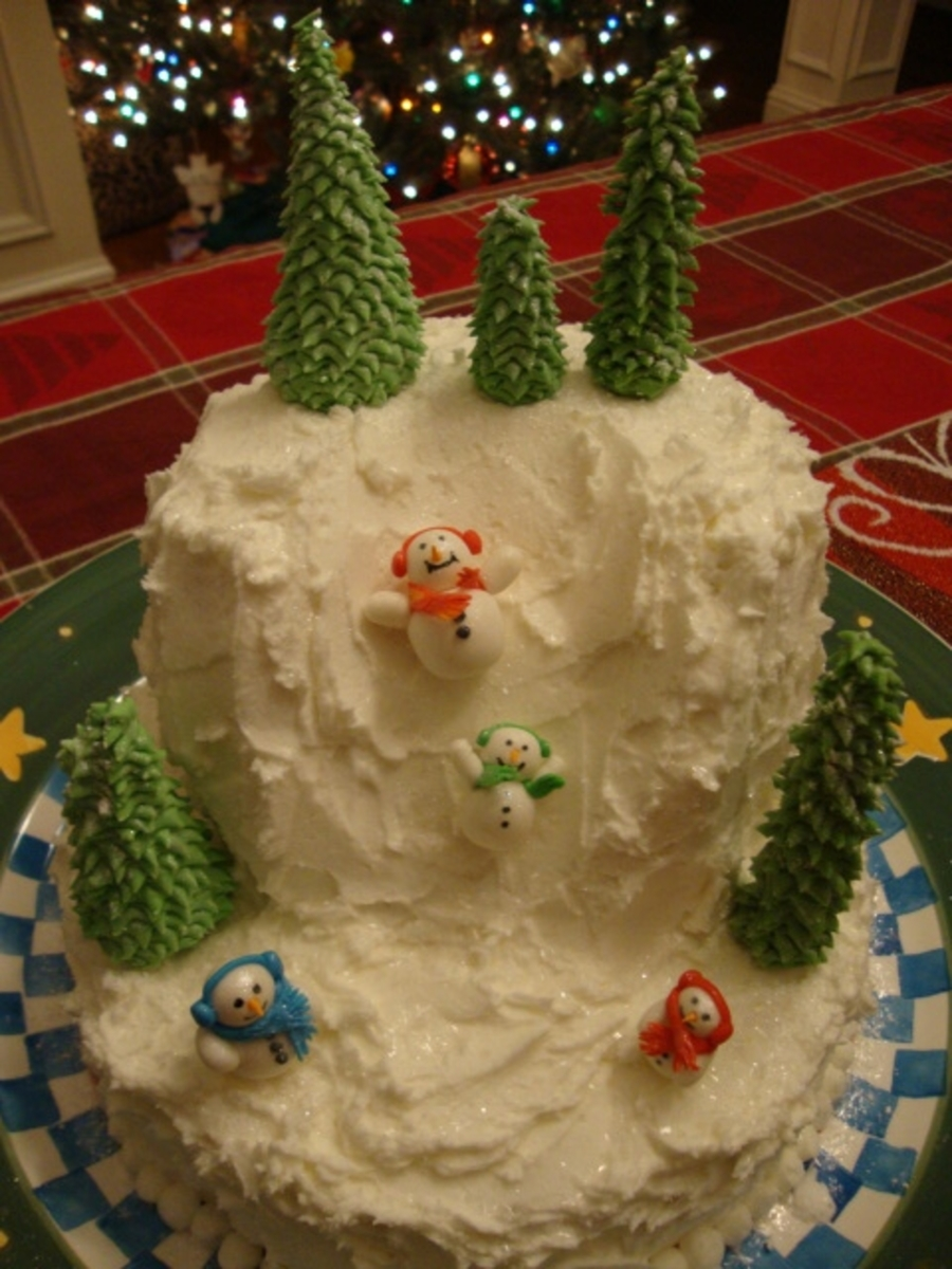 Snowman Holiday on Cake Central