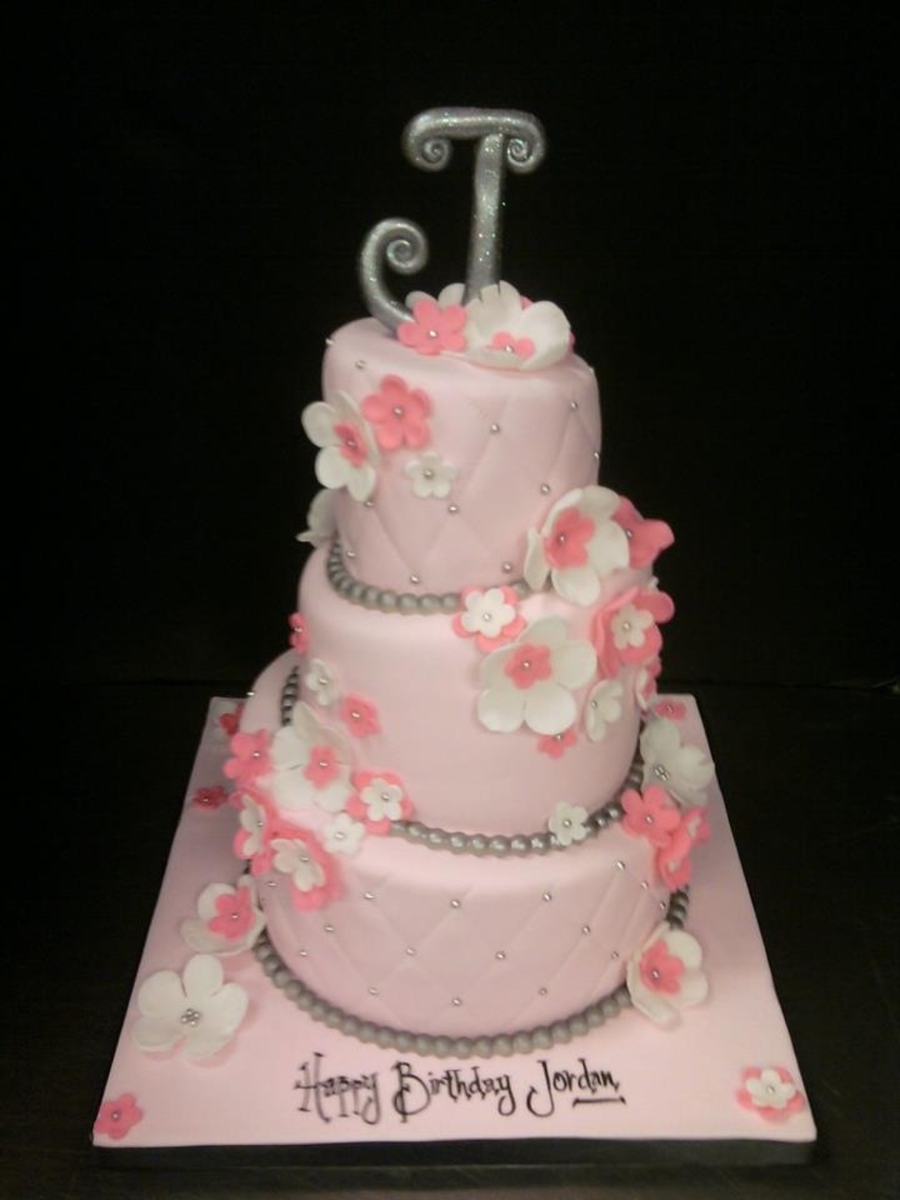 Whimsy Pink on Cake Central