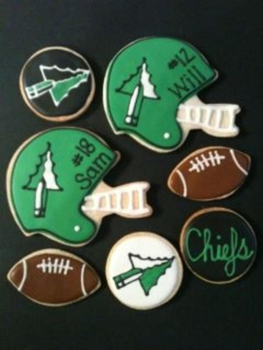 Go Chiefs! on Cake Central