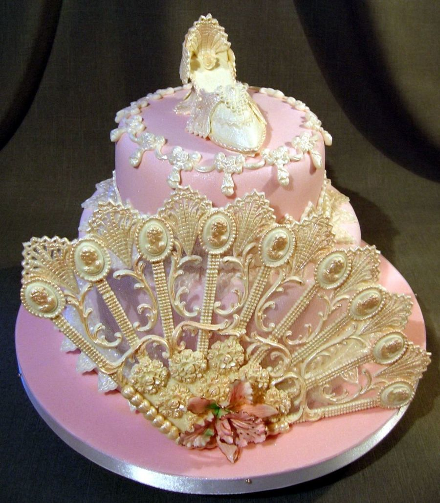 Victorian Shoe on Cake Central