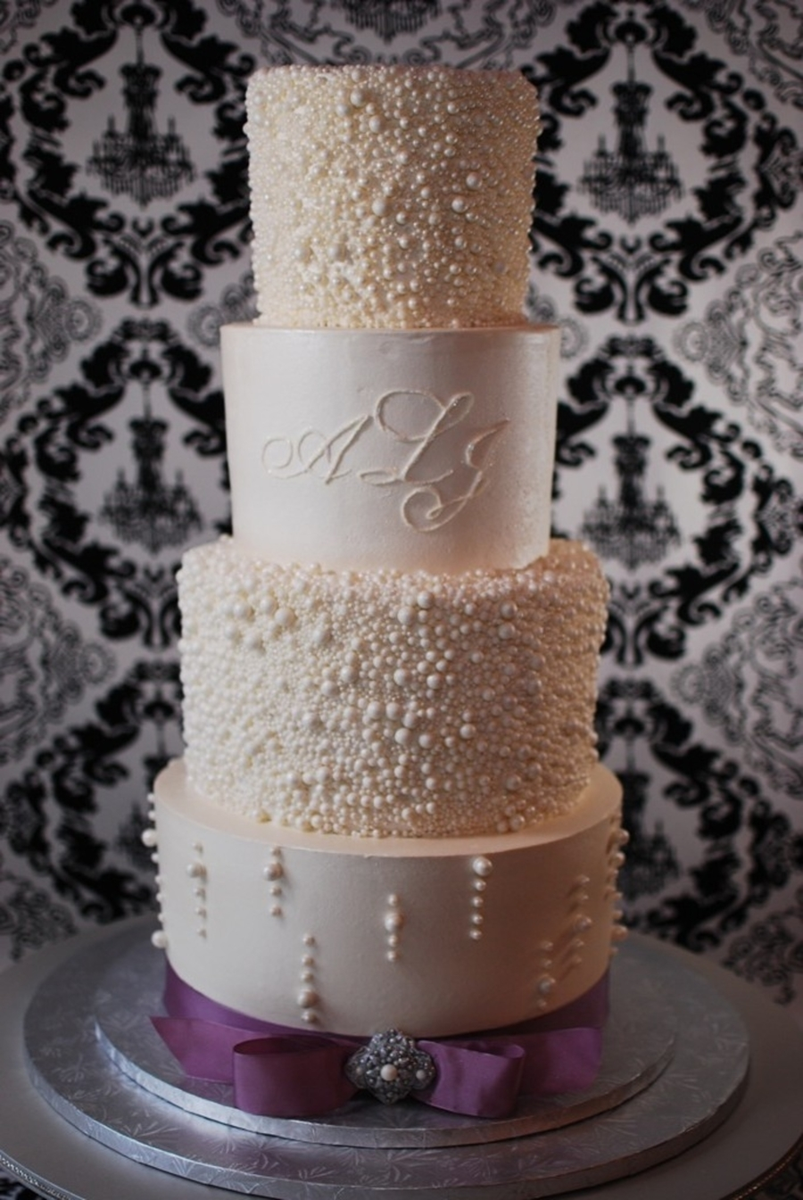 where can i buy pearl wedding cake vodka pearl encrusted wedding cake cakecentral 27134