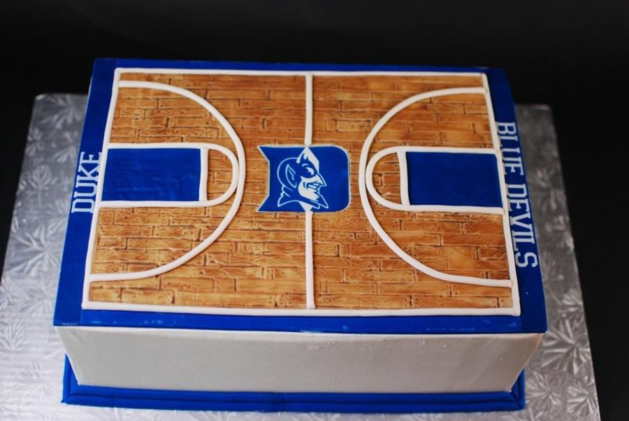 College basketball court duke for Making a basketball court