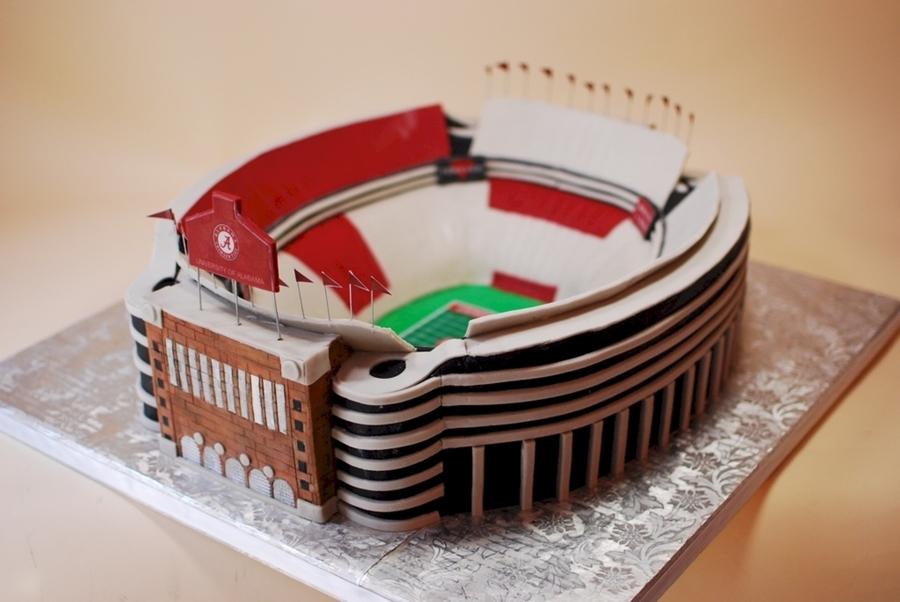 Alabama S Bryant Denny Stadium Groom S Cake Cakecentral Com